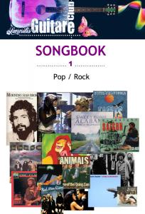 Songbook pop rock club guitare 1